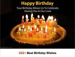 322+ Best Birthday Wishes 2020