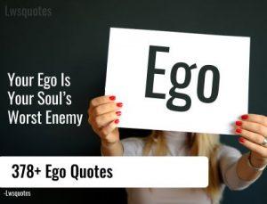 378+ Ego Quotes