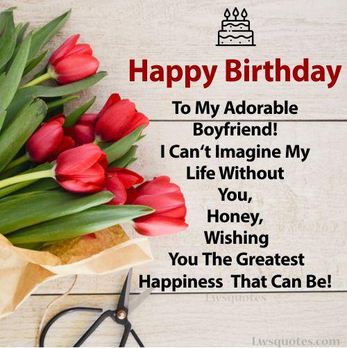best Boyfriend Birthday Wishes 2020