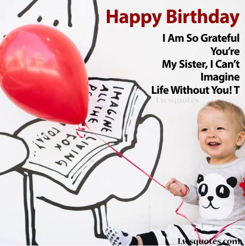 best Sister Birthday Wishes 2020