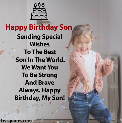 best Son Birthday Wishes 2020