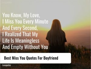 47+ Best Miss You Quotes For Boyfriend