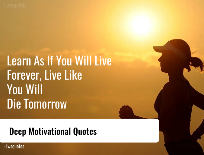 70+ Deep Motivational Quotes