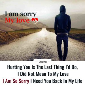 Best Sorry Quotes For Girlfriend