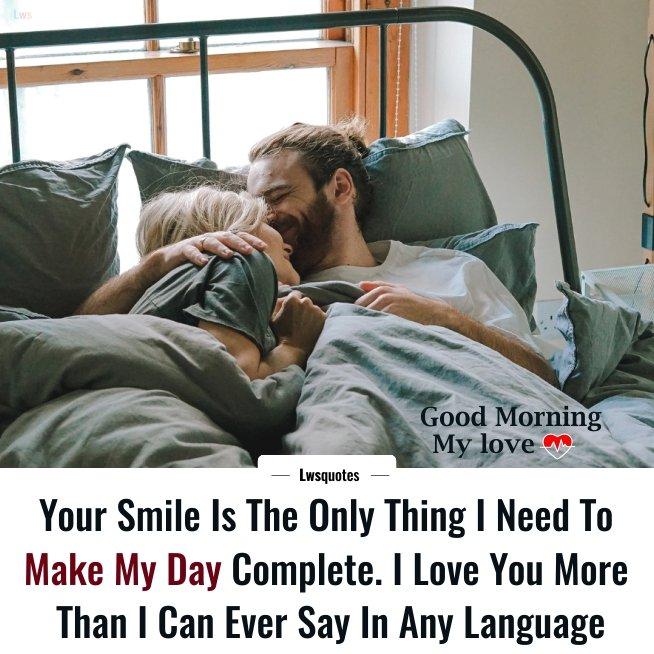 Romantic Best Good Morning Quotes