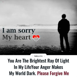 Romantic Sorry Quotes For Girlfriend