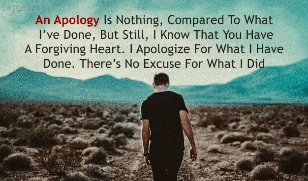 best Sorry Quotes for gf
