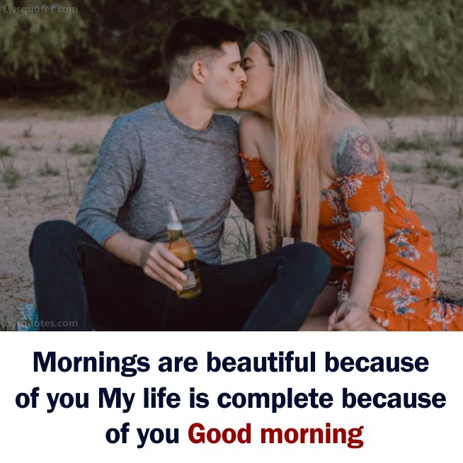 romantic Good Morning Lines