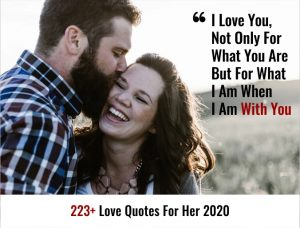 223+ Love Quotes For Her 2020