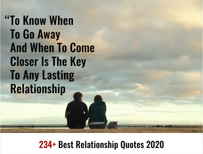 234+ best relationship quotes 2020