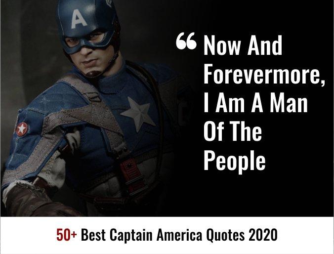50+ Best Captain America Quotes 2020