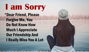 Best Sorry Quotes For Friend
