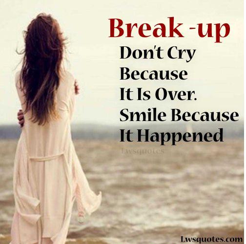 One Line Breakup Quotes Status