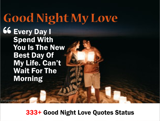 333+ good night love quotes status