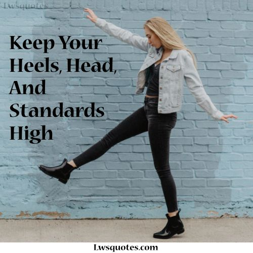 High Attitude Quotes For Girls In English