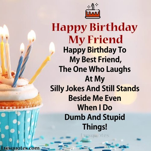 best friend Birthday Wishes 2020