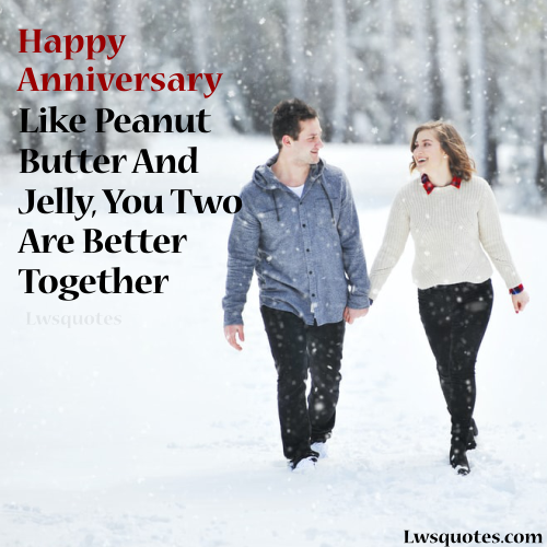 short Wedding Anniversary Quotes For Friend