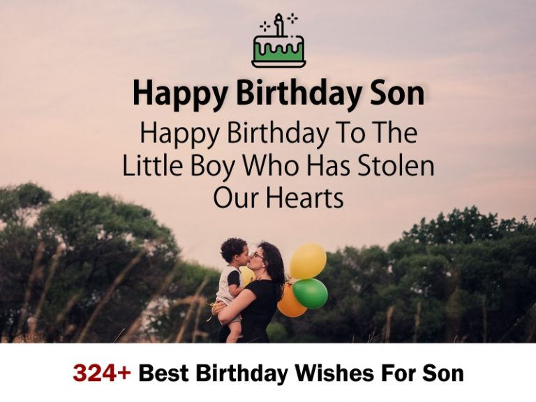 324+ Best Birthday Wishes For Son 2020