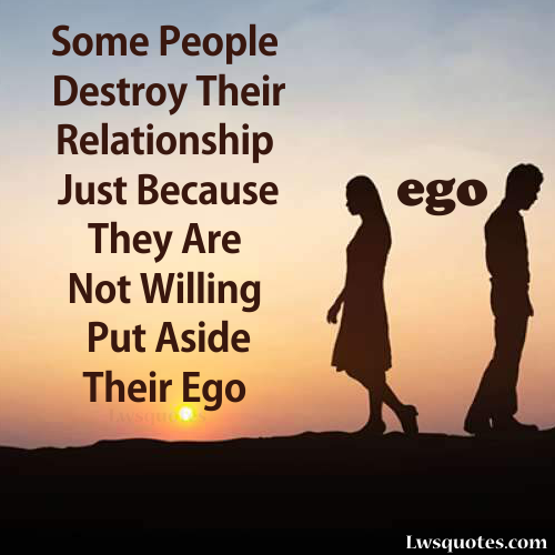 Best Ego In Relationships Quotes 2020