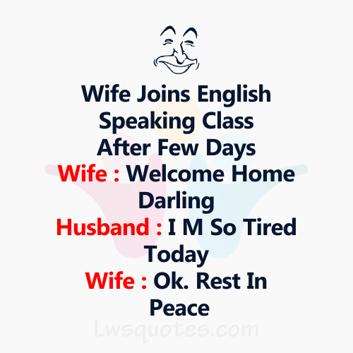 Best Husband Wife Funny Jokes
