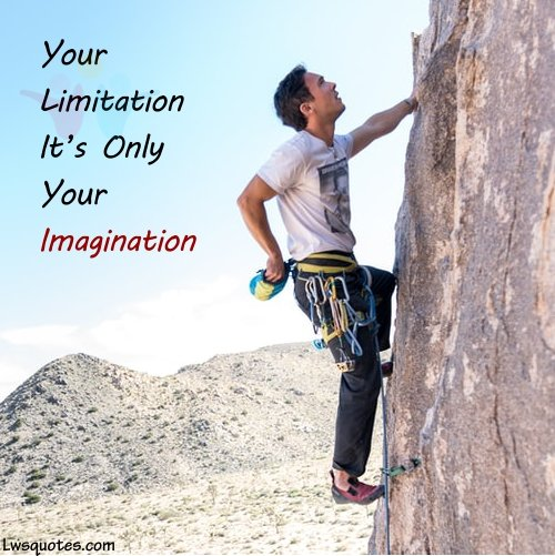 one line limitation inspire quotes