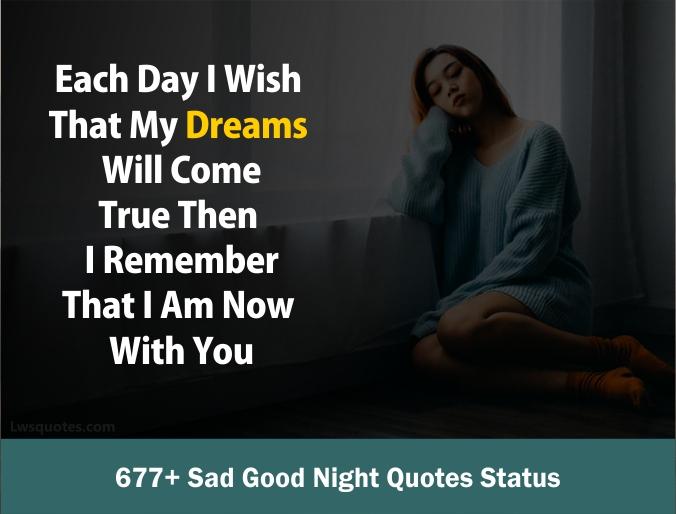 Messages sad night 100 Sad